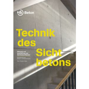 Technik des Sichtbetons (eBook/PDF)