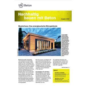Newsletter Nachhaltig bauen mit Beton 16