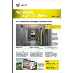 Newsletter Nachhaltig bauen mit Beton 12