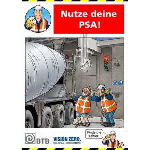 Poster Nutze deine PSA!