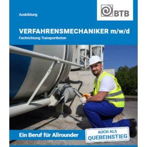 Broschüre Verfahrensmechaniker Transportbeton (m/w/d)