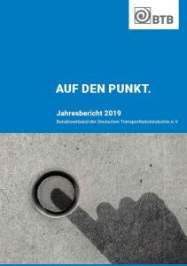 BTB-Jahresbericht 2019