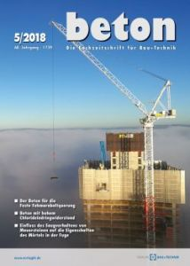 Zeitschrift beton - kostenfreies Leseexemplar
