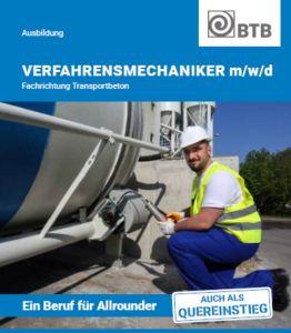 25-er Paket: Broschüre VerfahrensmechanikerTransportbeton (m/w/d)
