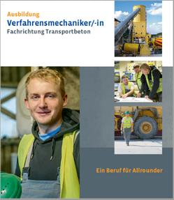 Broschüre Verfahrensmechaniker/in Fachrichtung Transportbeton