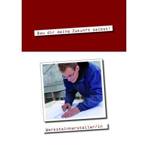 Ausbildungsbroschüre Werksteinhersteller/-in