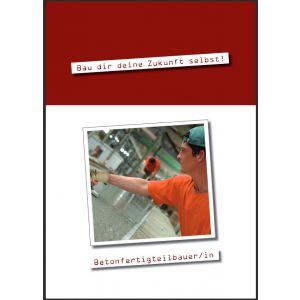 Ausbildungsbroschüre Betonfertigteilbauer/in