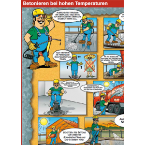"Betonieren bei hohen Temperaturen (""Saisonartikel"")"