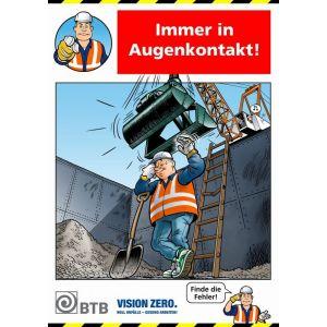 Poster Immer in Augenkontakt!