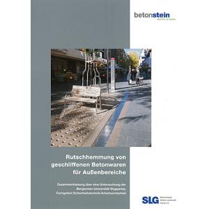 Rutschhemmung von geschliffenen Betonwaren für Außenbereiche