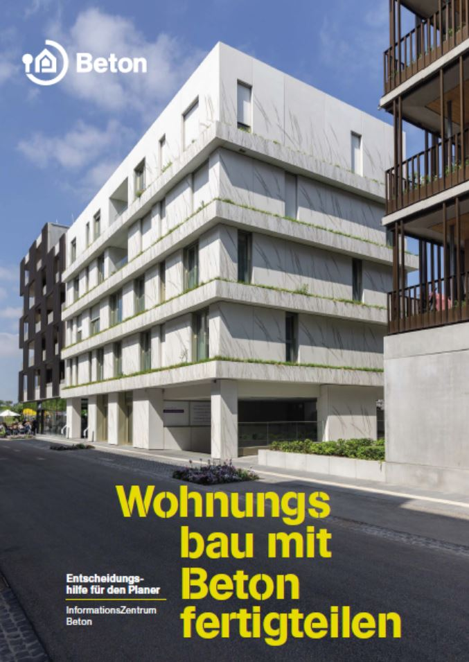 Wohnungsbau mit Betonfertigteilen